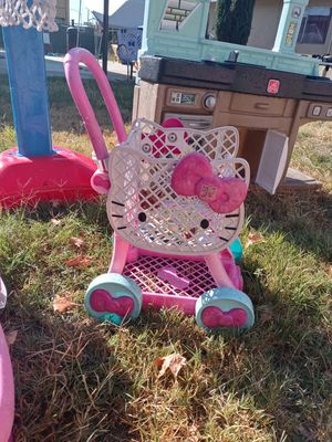 Hello kitty shopping basket for Sale in Fresno, CA