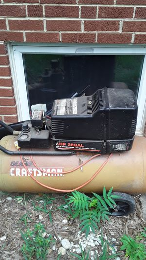 Craftsman air compressor for Sale in District Heights, MD