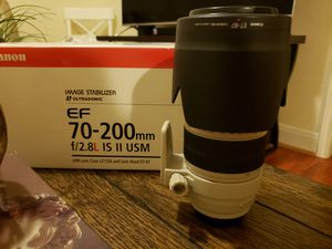 Canon EF 70-200mm f/2.8L IS II for Sale in Houston, TX