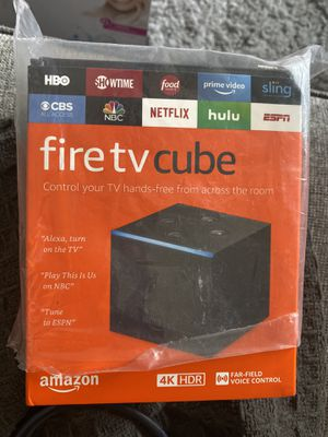 Fire TV cube for Sale in Los Angeles, CA