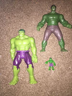 Talking Incredible Hulk action figures for Sale in Lauderhill, FL