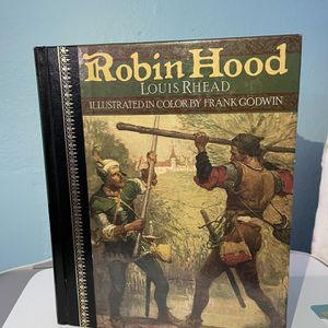 Robin Hood Hardcover Illustrated Book for Sale in Huntington Beach, CA