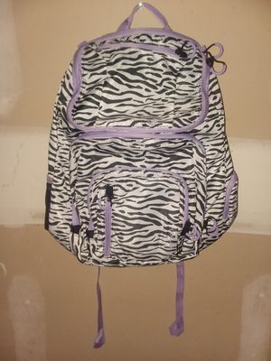 MAKE AN OFFER - embark Jartop Elite Zebra Pattern With Purple Laptop Backpack - New Without Tags for Sale in Los Angeles, CA