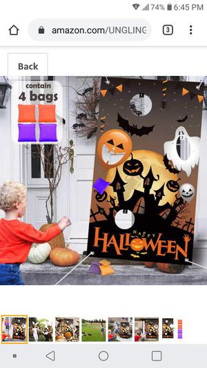 New! Halloween bean bag toss game for Sale in Lake Worth, FL