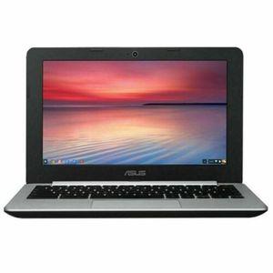 "ASUS C200MA-EDU 11.6"" Chromebook, Chrome, Intel Celeron N2830 Processor, 2GB RAM, 16GB Solid State Drive for Sale in Albuquerque, NM"