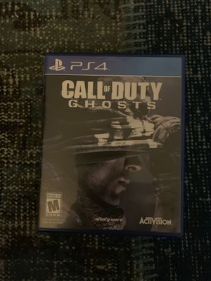 PS4 call of duty ghost for Sale in Costa Mesa, CA
