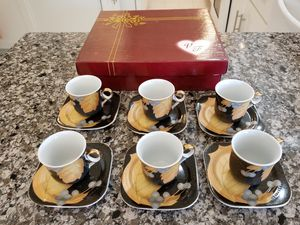 Mini coffee cups set for Sale in Arlington, VA