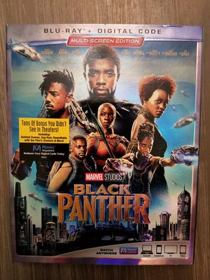 BLACK PANTHER DVD for Sale in Ridgewood, NJ