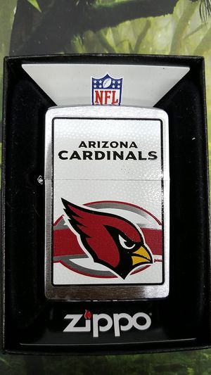 Zippo NFL Arizona cardinals brushed chrome 24610 for Sale in Los Angeles, CA