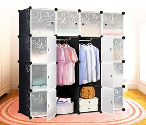 NEW Portable Cube Closet Wardrobe Storage Organizer Clothe Cabinet shelf Bed room for Sale in Henderson, NV