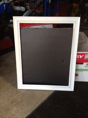 White Poster Board Frame for Sale in Durham, NC