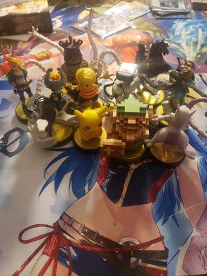 Nintendo Switch Amiibo Smash Pokemon Zelda Breath of the Wild for Sale in Houston, TX