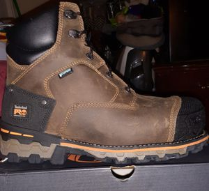 New Timberland Boondock work boots for men composite safety toe waterproof size 9.5 $125 for Sale in Rosemead, CA