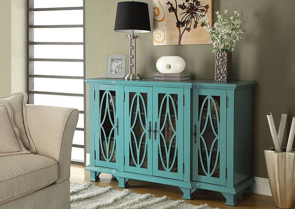 Blue accent Cabinet $846.99