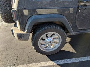 Cleaver wheels and Rolling Big Power tires! for Sale in Issaquah, WA
