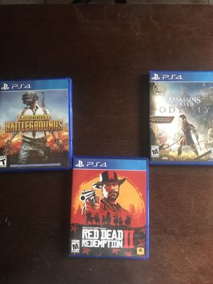 PS4 game with Delivery In some Kissimmee areas only included. for Sale in Poinciana, FL