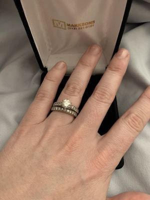 Wedding Ring Set for Sale in Tempe, AZ