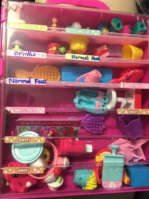 Shopkins with case for Sale in Glendora, NJ