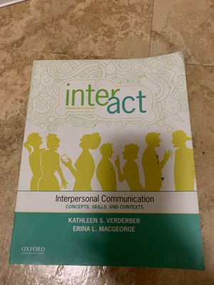 Interact Fourth Edition for Sale in Cleveland, OH