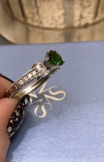Brand New! Genuine Tourmaline Gemstone Ring In Perfect Condition. Please See Details :)