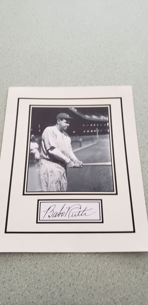 Babe Ruth Photo for Sale, used for sale  Canton, GA