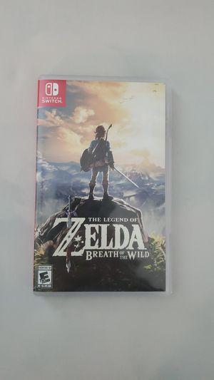 Legend Of Zelda Breath of the Wild for Sale in Dallas, TX