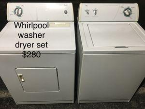 Whirlpool washer dryer set / lavadora secadora for Sale in Miami, FL