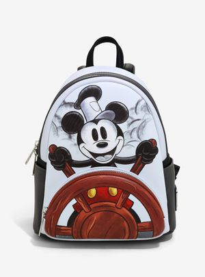 DISNEY LOUNGEFLY STEAMBOAT WILLIE MINI BACKPACK for Sale in Montebello, CA