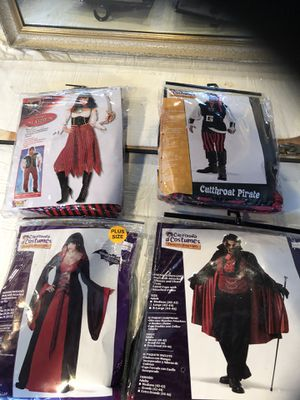 Halloween costumes. Large and X Large for Sale in Fenton, MO