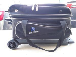 Ebonite Transport II Roller, Bowling Bag, Black for Sale in Chandler, AZ