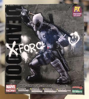 DEADPOOL X-FORCE (Gray) - Kotobukiya ArtFX - 1/10 scale statue for Sale in Los Angeles, CA