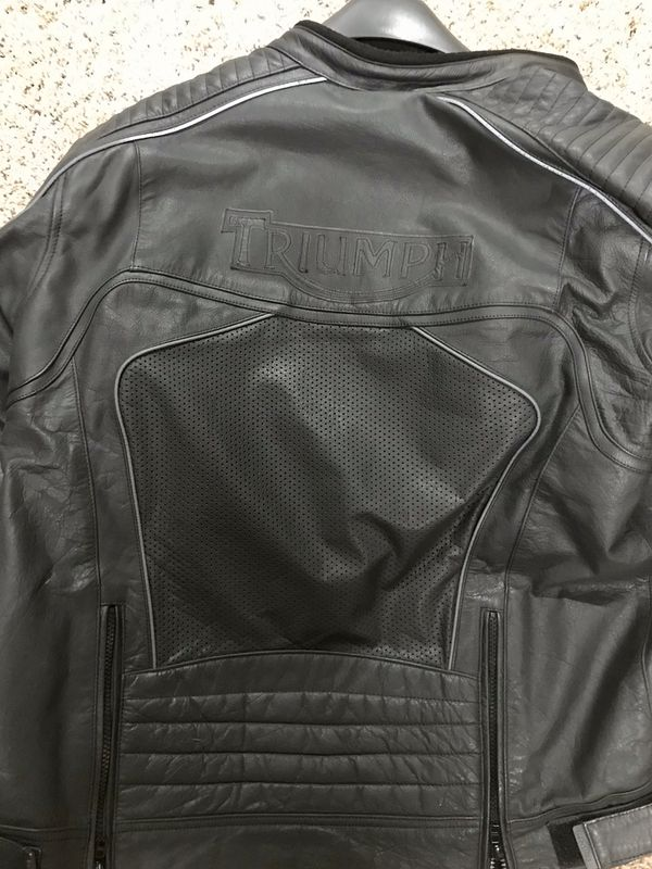 Triumph Leather Motorcycle Jacket