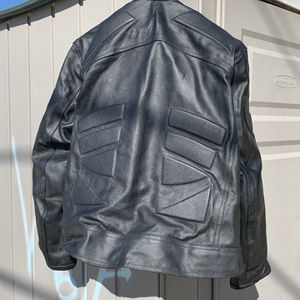 Leather Motorcycle Gear + Helmet for Sale in Dundalk, MD
