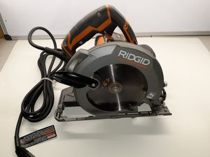 RIDGID 12 Amp Corded 6-1/2 in. Magnesium Compact Framing Circular Saw for Sale in Largo, FL