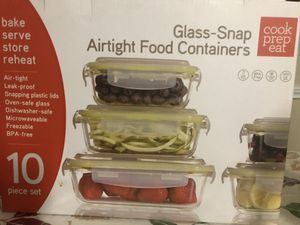 Food containers- loncheras de vidrio for Sale in Houston, TX