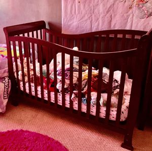 New baby crib used twice for Sale in Philadelphia, PA