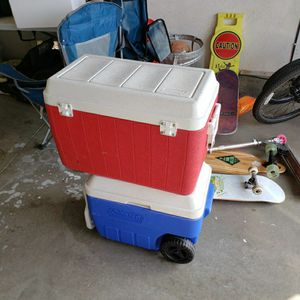 Coleman Chest Coolers for Sale in Fontana, CA