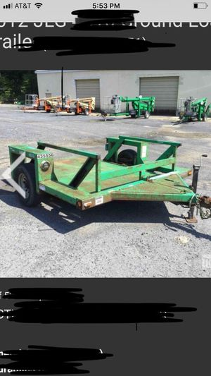 JLG Ground Load Trailer for Sale in Williamsport, PA