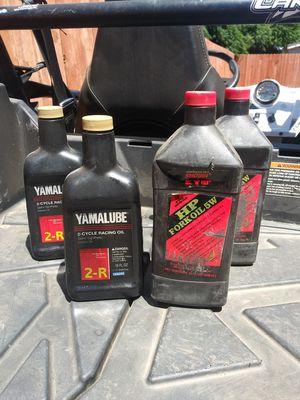 Dirt bike oil for Sale in Menifee, CA