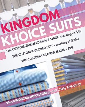 Custom Suit for Sale in Charlotte, NC