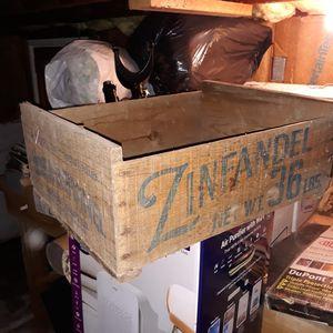 Zinfandel grape grate for Sale in Everett, WA
