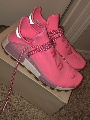 "Authentic Adidas Pharrell NMD Human Race ""Sun Calm"" Size 10 for Sale in Arlington, TX"