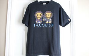 Bape x Back to the Future Collab Black Tee Shirt XL for Sale in Mansfield, TX