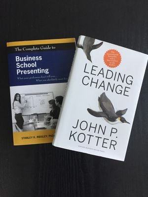 Leading Change + Business School Presenting for Sale in Tampa, FL