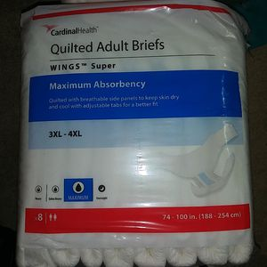 Cardinal Health Quilted Adult Briefs for Sale in Vancouver, WA