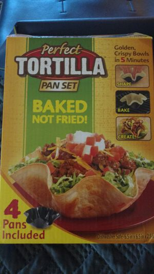 Perfect Tortilla Pan Set for Sale in LOS RNCHS ABQ, NM