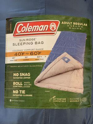 3x Coleman Sun Ridge Sleeping Bags for Sale in Beverly Hills, CA