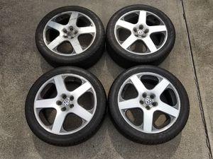 Set of (4) VW Monte Carlo/Santa Monica Rims w/ Nankang Sport 245/40R17 *FREE DELIVERY* for Sale in Rocky River, OH