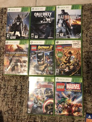 Xbox 360 games for Sale in Santee, CA
