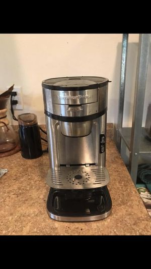 Single serve coffee maker, stainless steel for Sale in Portland, OR
